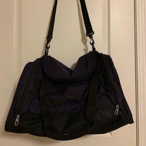 Dark Purple Nike's Gym Bag